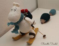Moomin:  Le tuto de Samigurumi traduit en français par Clairette tricote !