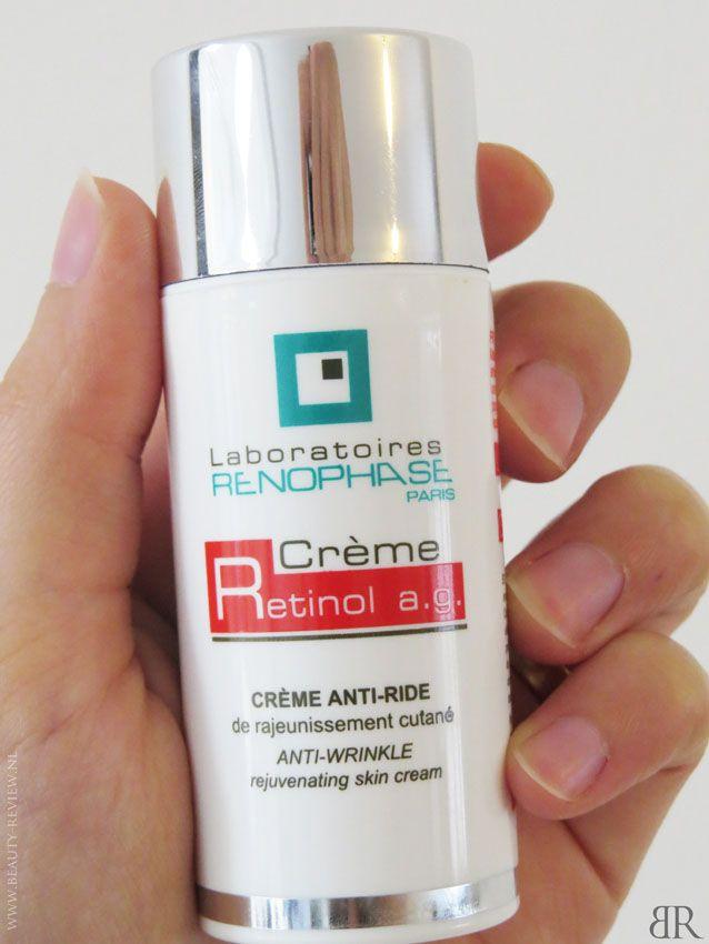 Renophase Crème Retinol flacon