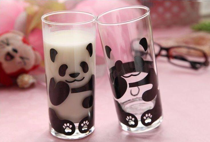Стакан-панда (а если налить кофе, то будет бурый мишка)