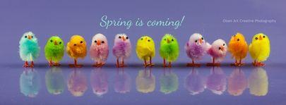 #Spring #Easter #Olsen art #VEGREVILLE