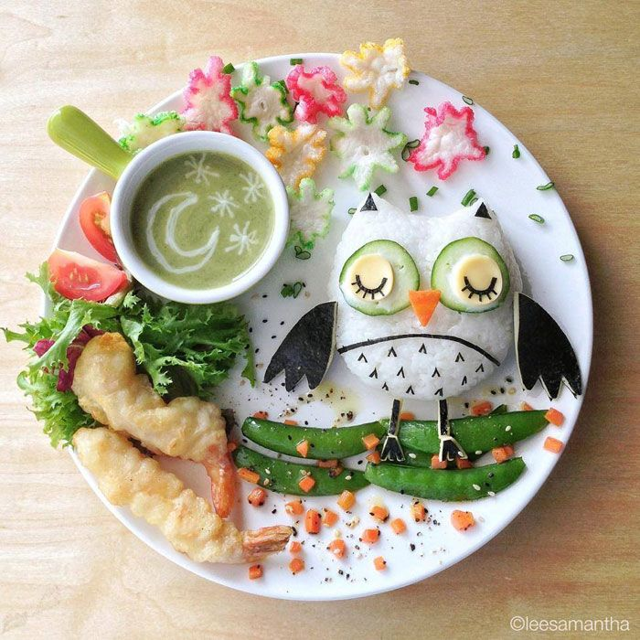 Owl food art by lee samantha (12)