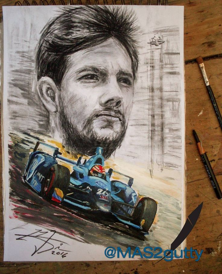 @carlosmunoz73 at #Indy500 2016 #drawing Carbón + Acrylic + 0il / paper  @indycar @andrettiautosport @labandadelcarrorojo @colmotorfans @indianapolismotorspeedway #cardesign #draw #artwork #artstudio #artoftheday #colorful #racing #racingcar #artwork #indycar #pretty #cool #sketchbook #tattoo #cars #engine #love #me #motorsport #artist #automotive #picoftheday #instaart #f1 #nascar #mas2guttycarts @tattooistartmag