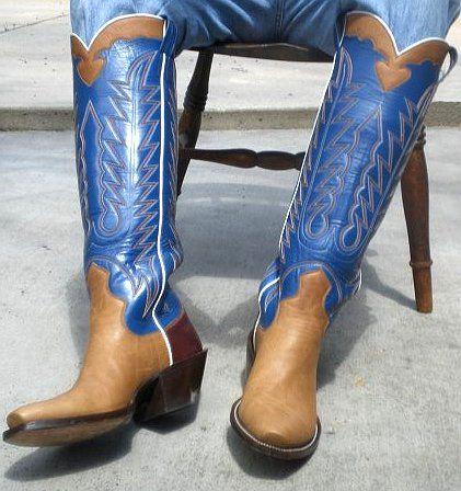 custom+cowboy+boots | Custom Tall Cowboy Boots