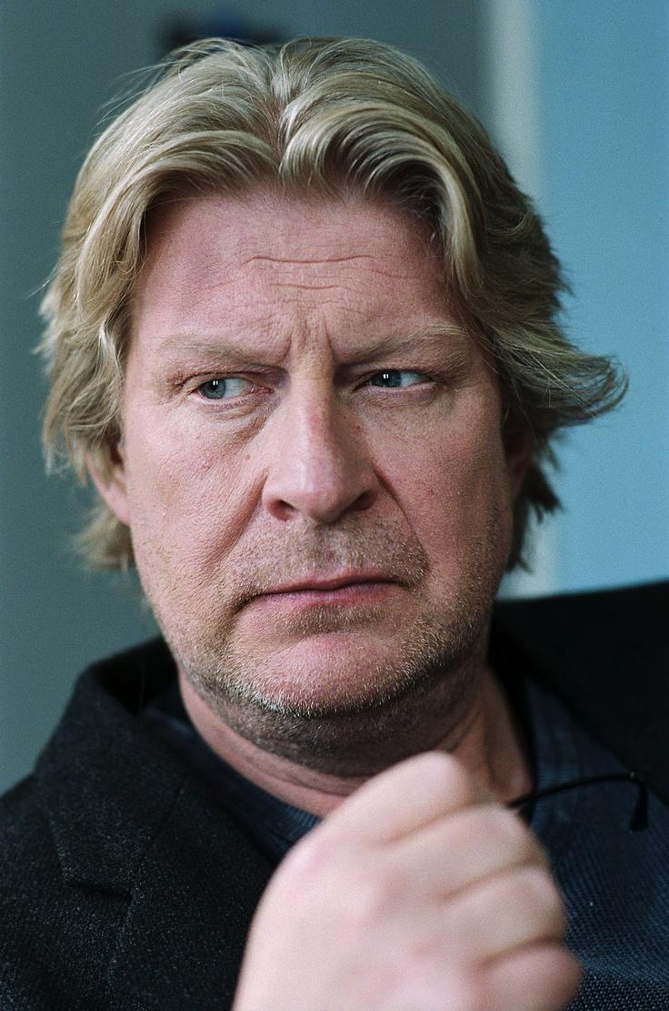 Rolf Lassgård, a swedish actor as Kurt Wallander