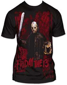 horror movie clothes | Prowl Friday the 13th Jason Voorhees T-Shirt