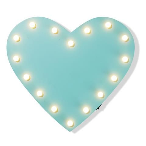 wall Led Decor Heart roomates Lighting