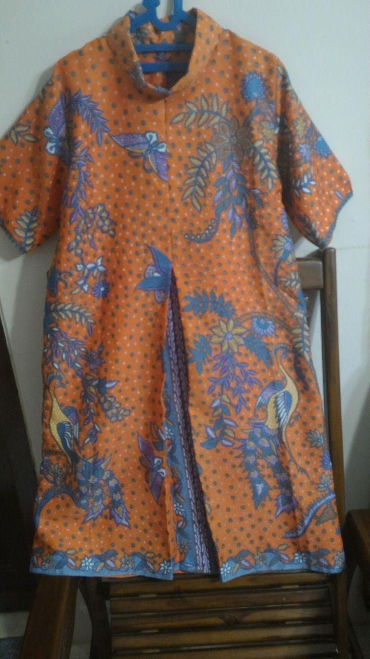 Batik Doby dress by Yuniar Susana