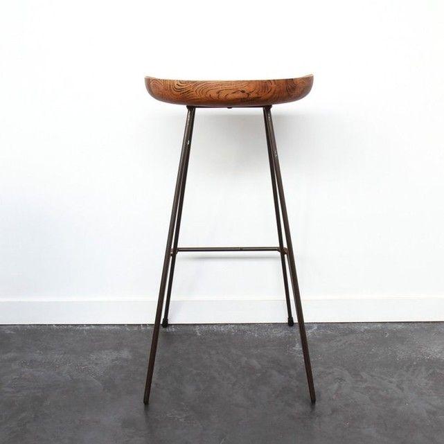 les 25 meilleures id es de la cat gorie tabourets de bar en bois sur pinterest tabourets bar. Black Bedroom Furniture Sets. Home Design Ideas