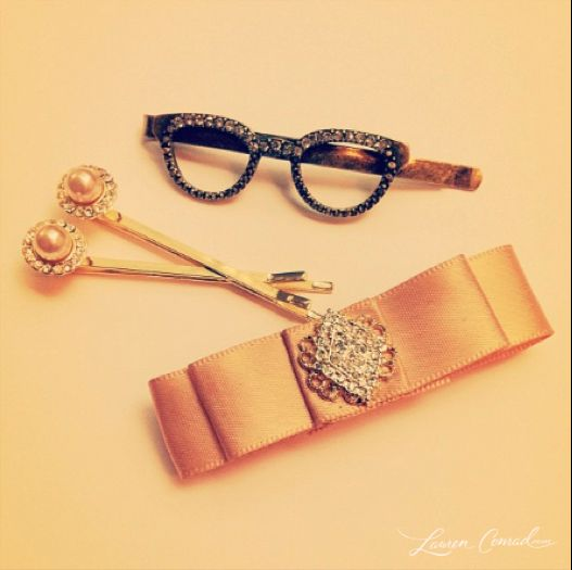 sparkly hair accessories!: Glasses Pin, Hair Pin Laurenconrad 3, Sparkly Hair, Glasses Hair, Hair Style, Hair Accessories, Lauren Conrad, Hair Clip, Conrad Accessories