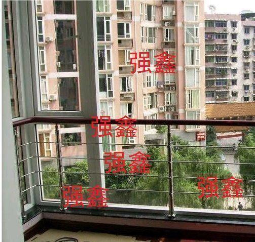 Livraison gratuite acier Inoxydable 304 escalier clôture balustrade tige personnaliser ronde piaochuang garde-corps ensemble