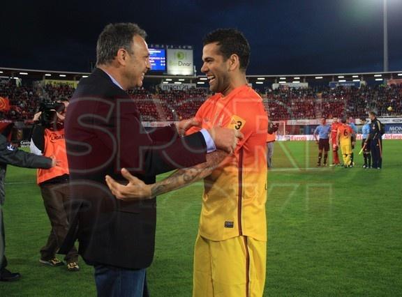 Dani Alves, FC Barcelona, | Mallorca 2-4 Barça. 11.11.12.