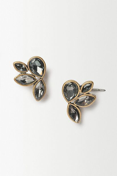 Gilded Leaf Earrings #anthrofave #anthropologie #women #accessories