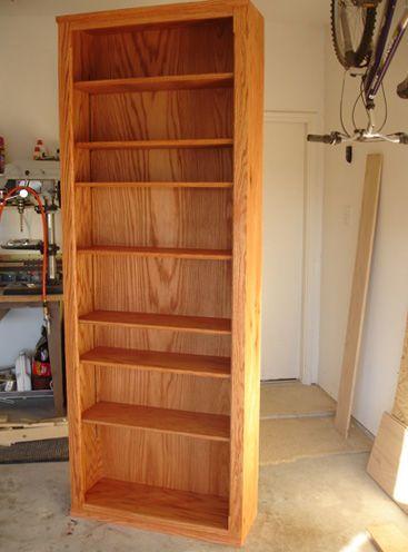 how to make a full wall bookshelf