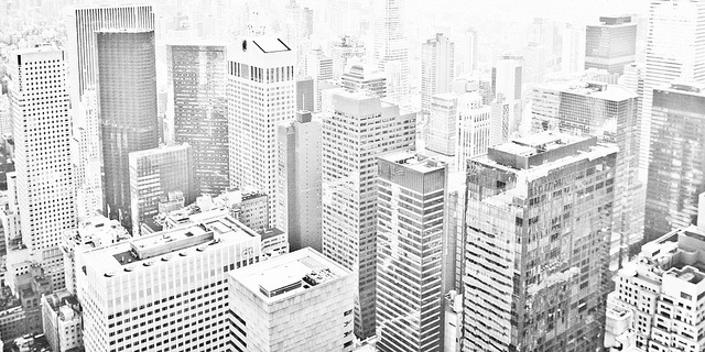 New York Crowd 3, NYC. 2009 by 190780, via Flickr