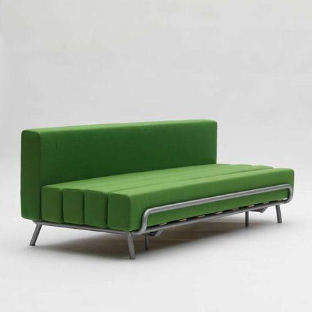 moderno sofa cama del diseador adrien rovero deco ideas