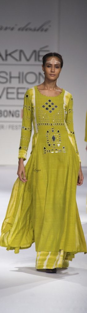Purvi Doshi -Lakme Fashion Week Fall/Winter 2014-15