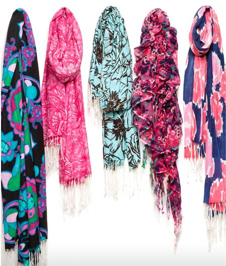 love these scarves #lillypulitzer #murfee #scarf