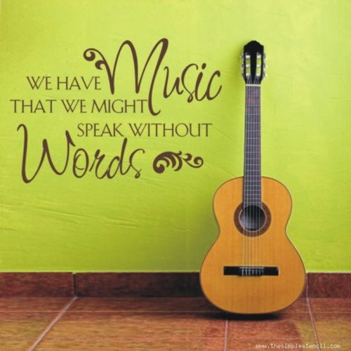 21 Best Wall Quote Designs Images On Pinterest Music