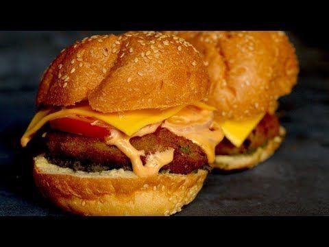 ALOO TIKKI BURGER RECIPE  | Aloo Tikki Burger Sandwich Recipe in Hindi | Street food recipe