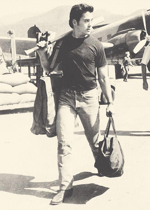 Robert Downey Jr in Air America [1990]