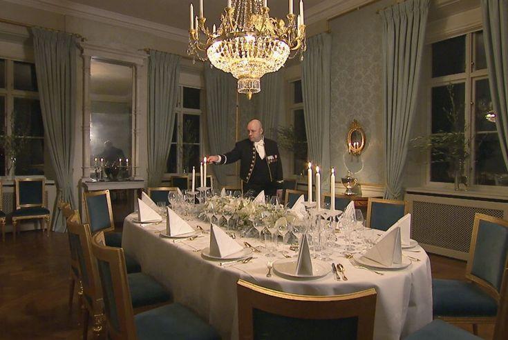 Royal Dining Room Castle Haga, Stockholm Sweden