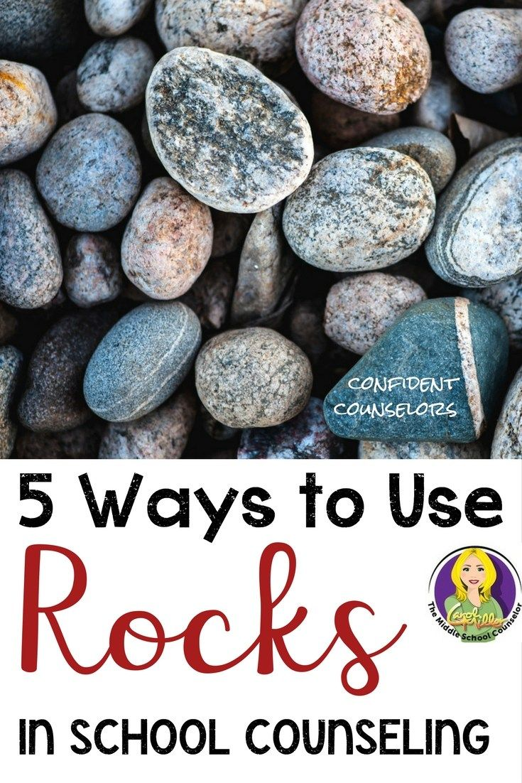 Free materials for counseling activities! Carol Miller from the Middle School Counselor has some creative ideas for how to use rocks to get kids talking about their feelings, coping skills, and support systems.