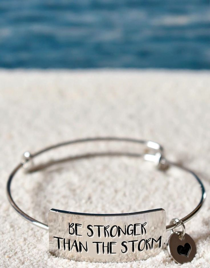 Be stronger than the storm. Love this quote