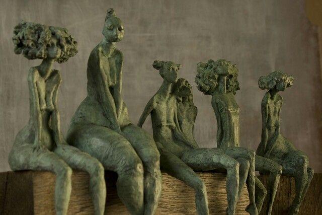 Valerie hadida - seated figures