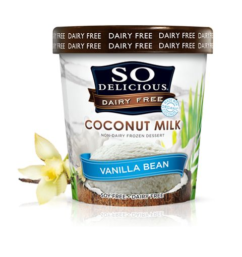 Perfect because there's no dairy and coconut will help with the healing.