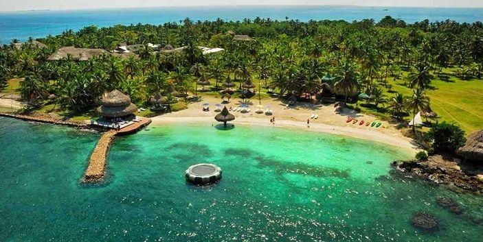 Cartagena Colombia, San Bernado Island tourism plans, special tourism, VIP tourism, ( http://yook3.com )