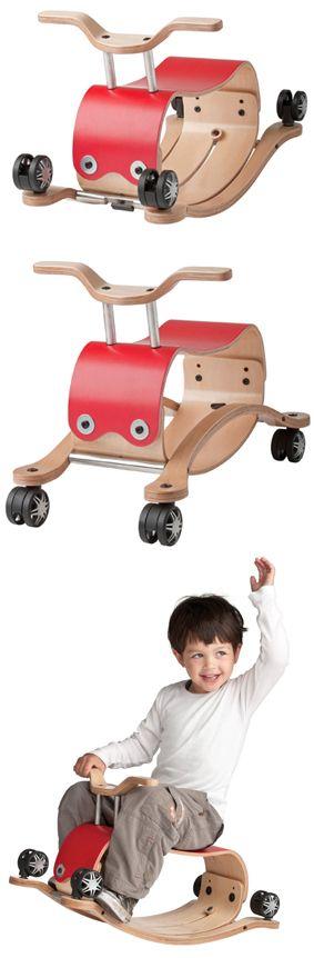 Wishbone Flip 3 in 1 Rocker and Ride On Toy