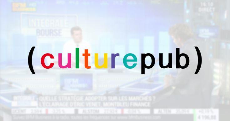 Culture Pub est de retour à la télévision, sur BFM Business http://www.llllitl.fr/2015/09/culture-pub-de-retour-sur-bfm-business/ #Publicite #Medias #TV #Advertising #TVshow #Commercials #BFM