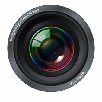 ultra-realista lentes de las cámaras