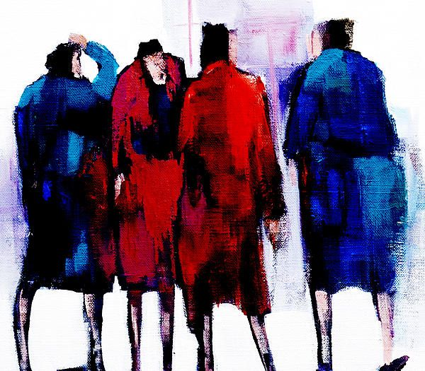 Gossip by Mary Pickering - Gossip Painting - Gossip Fine Art Prints and Posters for Sale