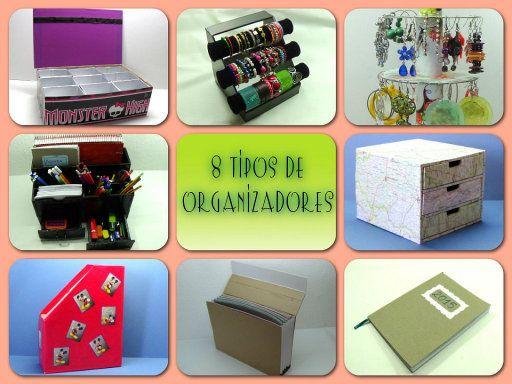 8 Tipos de Organizadores