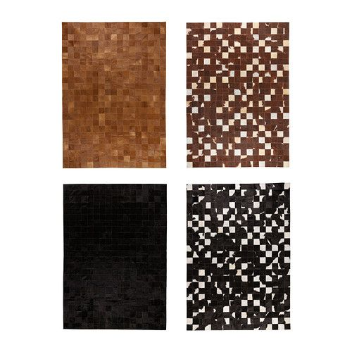KORNUM Cow hide IKEA The cowhide is naturally durable and will last for many years.