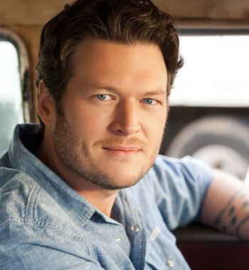 Oklahoma native, Blake Shelton. From Ada, Oklahoma, resides in Tishomingo, Oklahoma