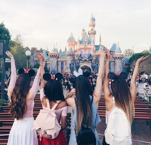 Imagen de friends, disney, and disneyland