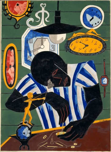 Jacob Lawrence, 'Watchmaker,' 1946, ICA Boston
