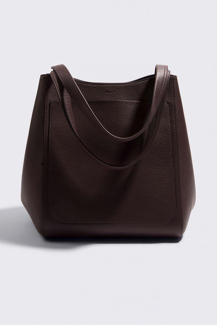 Shelby Bucket Leather Bag | na-kd. - Filippa K