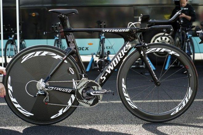 Rigoberto Uran's Specialized S-Works Shiv Rigoberto Uran stormed to a commanding victory in the Giro d'It...