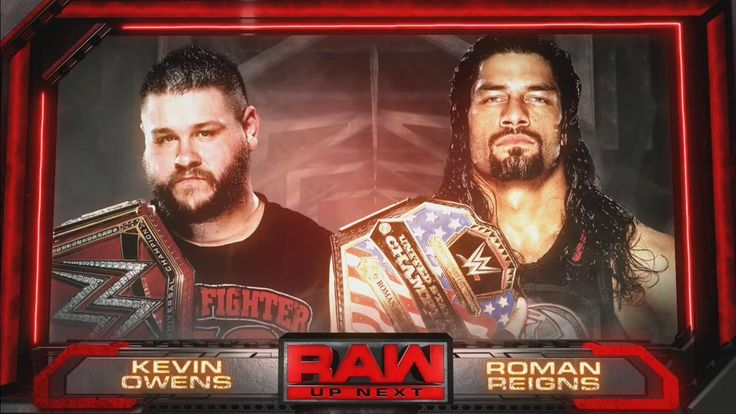 Kevin Owens vs. Roman Reigns