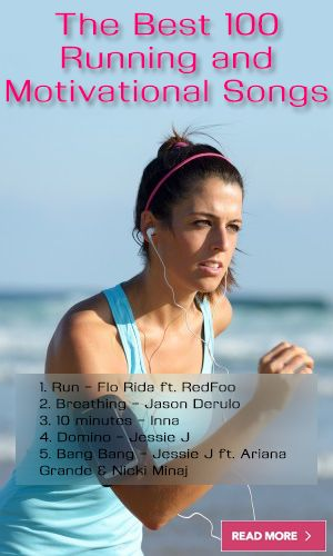 We've selected the best 100 running songs for you. http://lifelivity.com/best-running-songs/