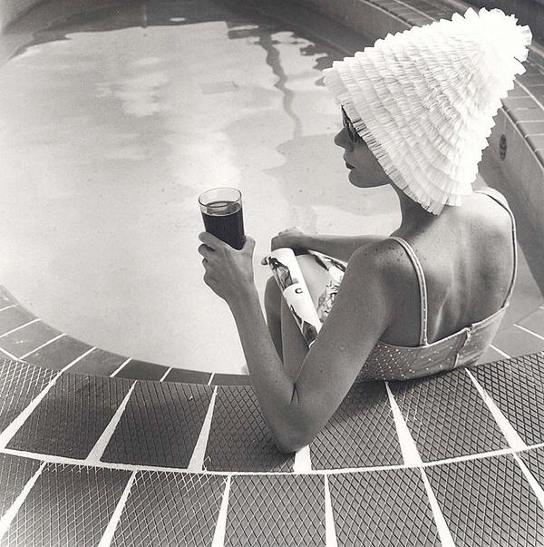 Vintage Bathing Cap 100