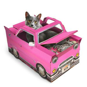 Cat Playhouse Car, £19.50, now featured on Fab.