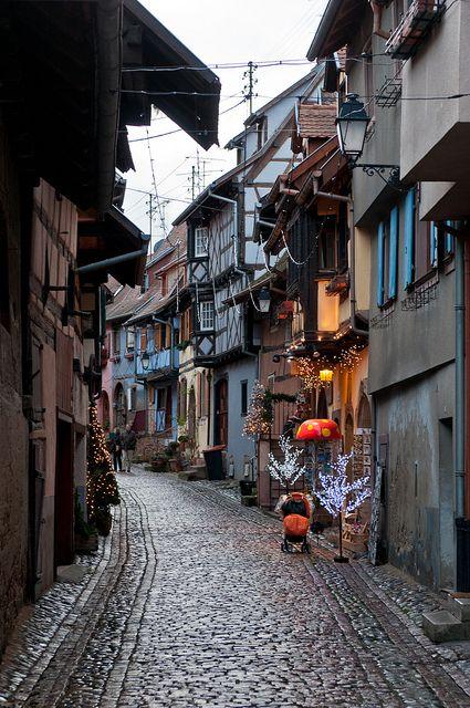 Eguisheim, Alsace by Michal Osmenda, via Flickr