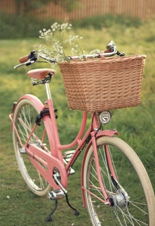 Baby pink bike you are going to be mine