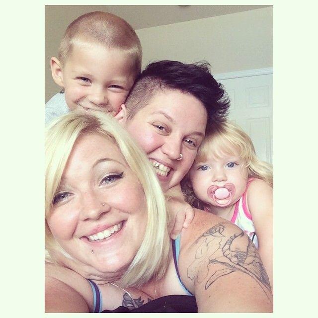 My adorable family! #family #gay #lesbian #photography #mom #momlife #parents #familyphoto #stepkids #stepchildren #cutecouples #photo #photos #happy #selfie #selfies #snapchat #love #valentines #pictures #kids #children #cutekids