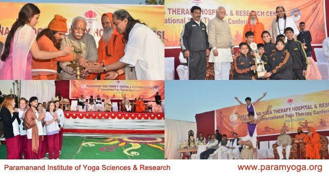 2nd International yoga therapy conference! Visit - www.paramyoga.org