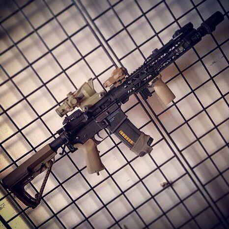 Tippmann M4 Carbine - Anthony's AR built ampedairsoft.com ...